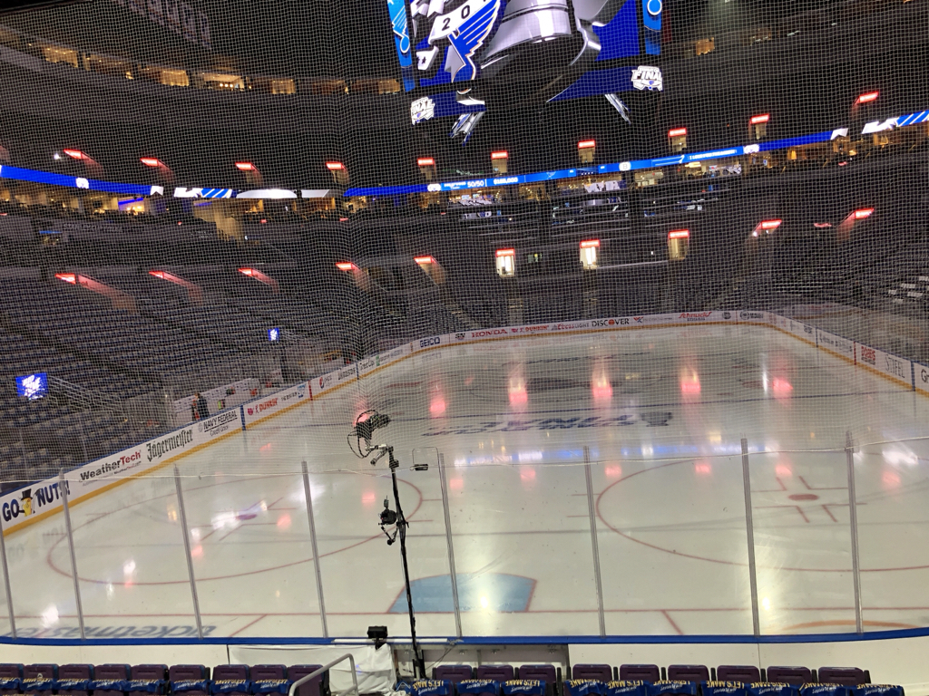 ae416e14 Here is your first look inside Enterprise Center. Game 4 of the Stanley Cup  Final is a mere hours away.