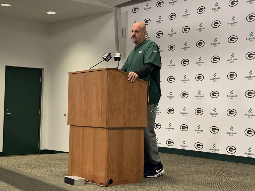 "Mike Pettine said he views his 3-3-5 defensive package that he used extensively against the Bears as a combination of his base front with a nickel secondary. He considers it a five-man front (with three down linemen and two OLBs) with one inside backer (Blake Martinez). He said it's a change from combatting three-receiver sets with four on the front. ""Now we're giving them five-down looks,"" he said."