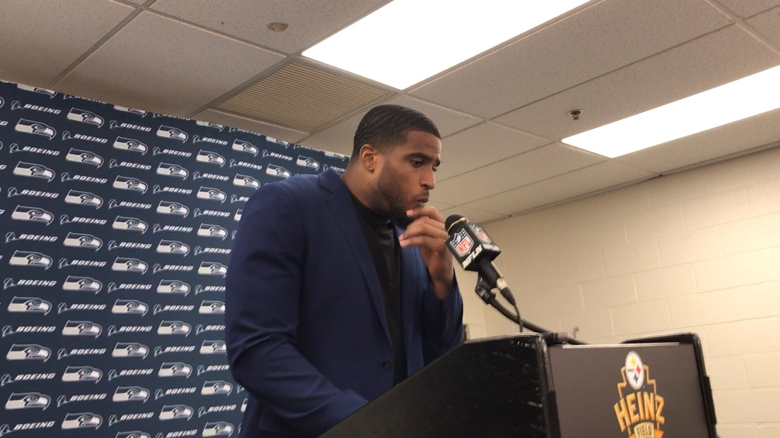 Bobby Wagner said the Seahawks felt like Ben Roethlisberger leaving just before halftime was their chance to seize the game.