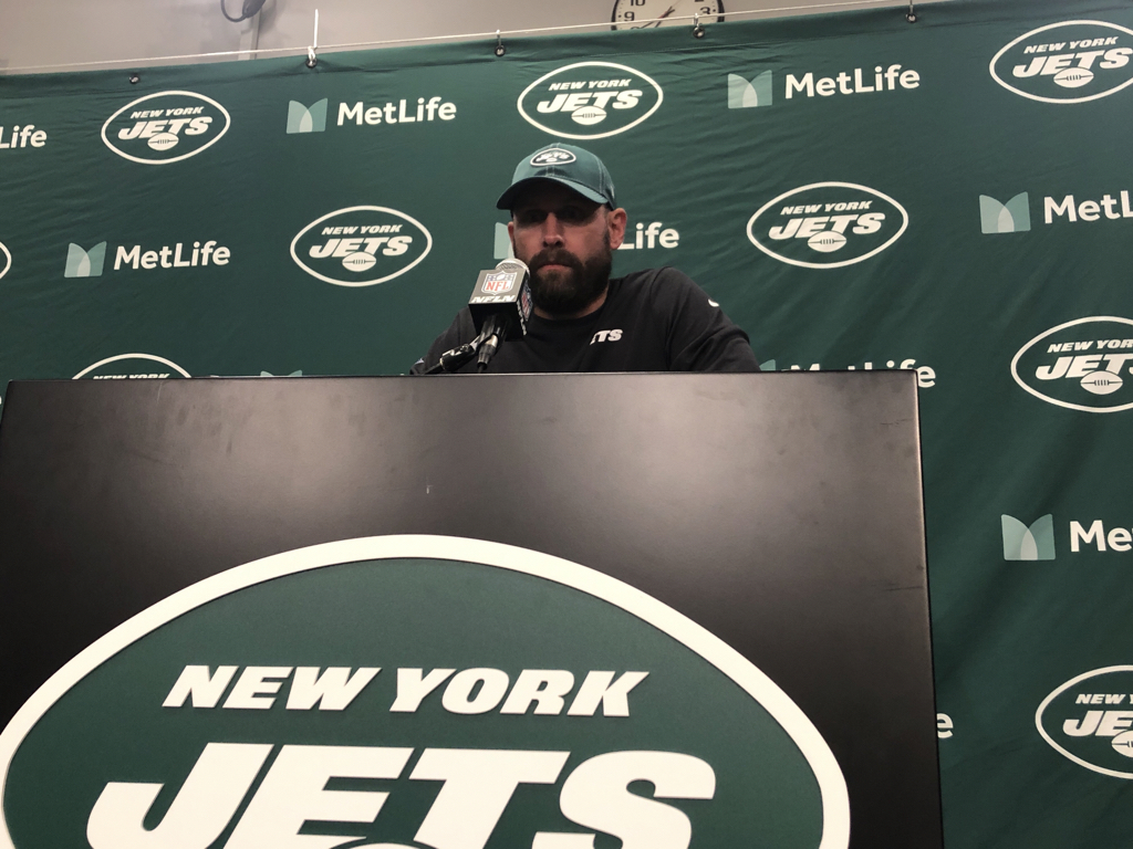 "Jets coach Adam Gase explained the strategy on the two-point stop late in the game: ""Gregg (Williams) blitzed everybody, so I don't think we really cared what they were doing on offense. Somebody was coming free."" That someone was Jamal Adams. The Jets rushed six and Dallas had only five blockers, so Adams came up the middle and pressured Dak Prescott into an incompletion."