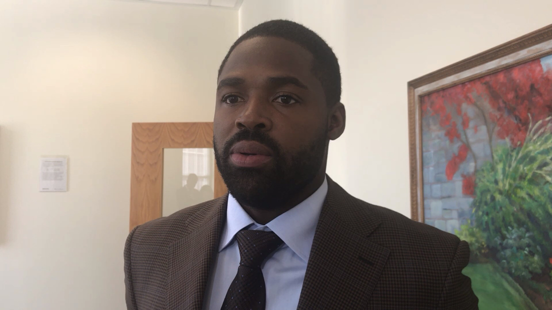 """Veteran wide receiver Torrey Smith said he was a """"surprise'' when the Panthers cut him after the preseason, but he understands the business side of it (Carolina saved $1.8 million in cap space for a player who was going to be its fourth receiver). Smith said this was going to be his last year anyway, but he's proud he came back from a knee (cartilage) injury last year and he's even more proud to be involved in programs such as Year Up, a national non-profit organization that helps create pathways to meaningful employment for low-income youth and adults. He plans to move back to Baltimore, but he will keep close ties to Charlotte. As for Cam Newton's ineffectiveness through an 0-2 start, Smith believes Newton will get his timing back."""
