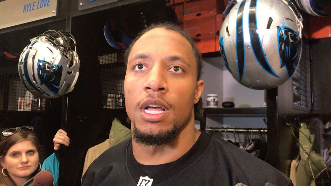 Panthers safety Eric Reid, wearing a black Colin Kaepernick jersey, said his former San Francisco teammate proved on Saturday he can still be an effective thrower. 'He was excited,'' said Reid, who attended three workout on his own.