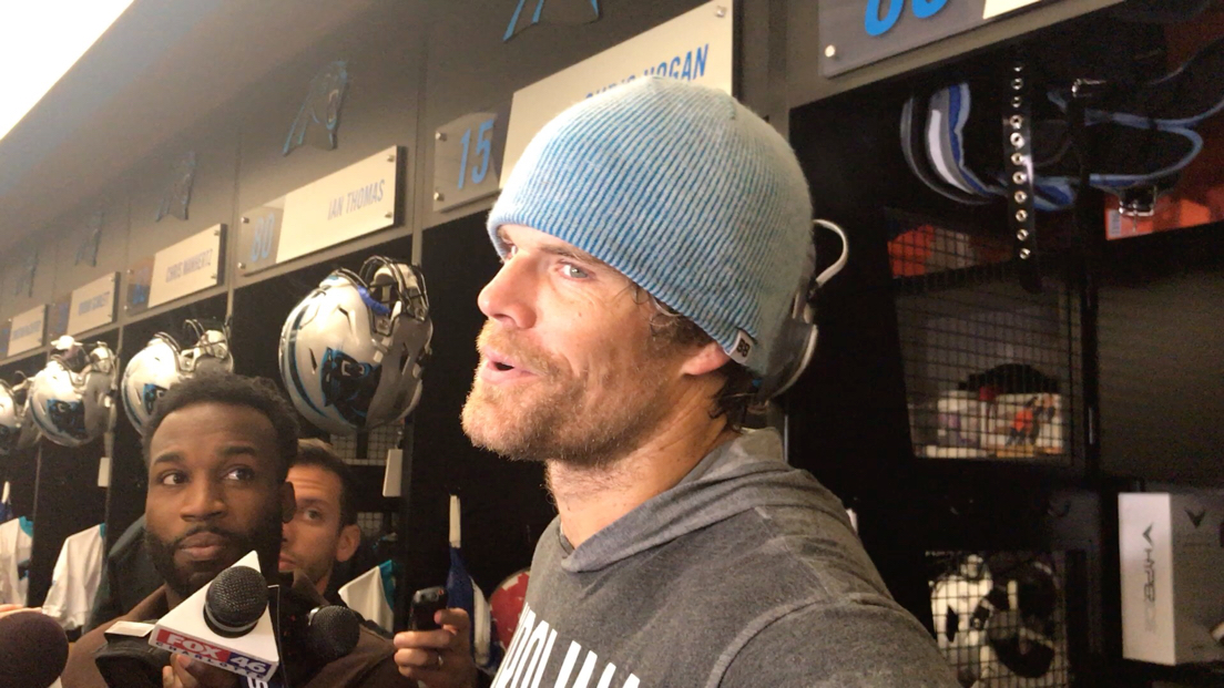 Panthers tight end a Greg Olsen wasn't about to get pulled into what the team should do when franchise quarterback Cam Newton is ready to return. He said trying to predict the future with Newton's replacement, Kyle Allen, 4-0 this season and 5-0 overall is just speculation.